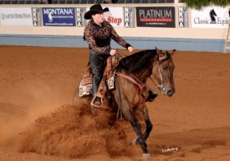 2009 NRHA Level 1 Non Pro Futurity Finals Top Ten.  Gloria and 'Junie' were also finalists in Levels 2, 3 & 4!