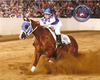 2010 All American Quarter Horse Congress Open Freestyle Champion!