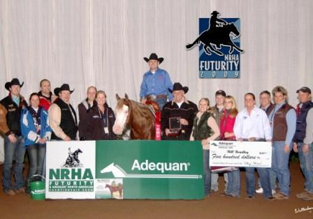 2009 NRHA North American Affiliate Championship Open Reserve Champion